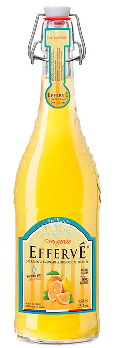 Orangeade bottle