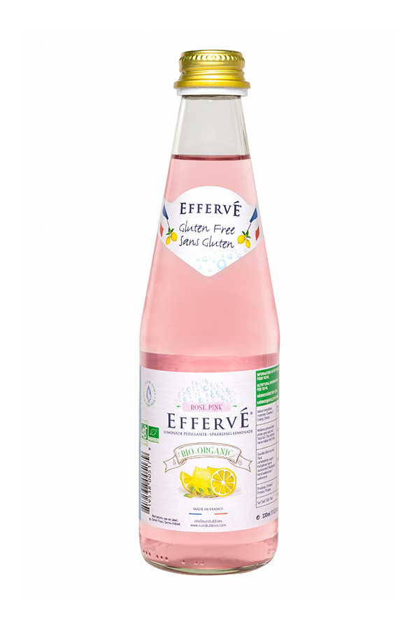 EFFERVÉ Organic Pink Lemonade 330ml