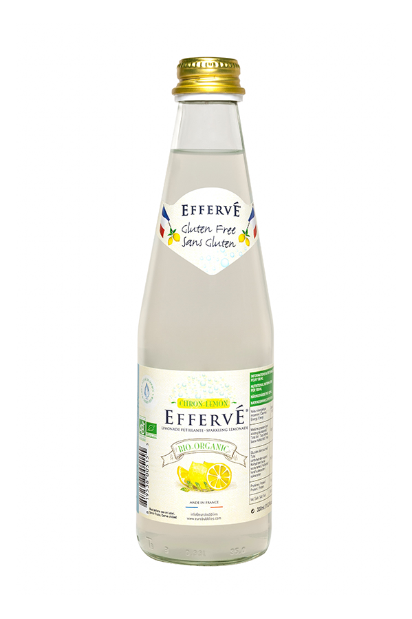 EFFERVÉ Organic Lemon 330ml